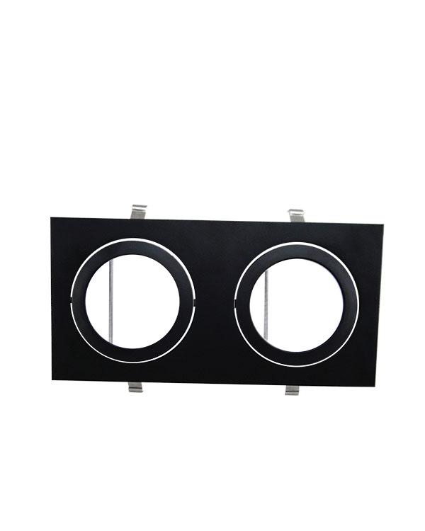 Spot Duplo Embutir Direcionável Para Lâmpada AR111