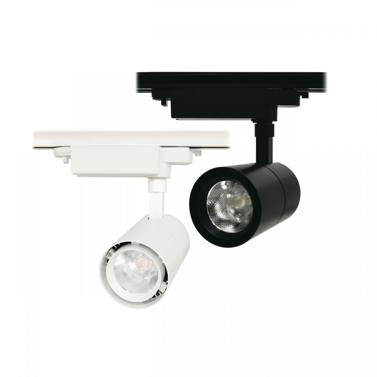 Spot LED 15W Para Trilho Eletrificado Preto ou Branco Bivolt