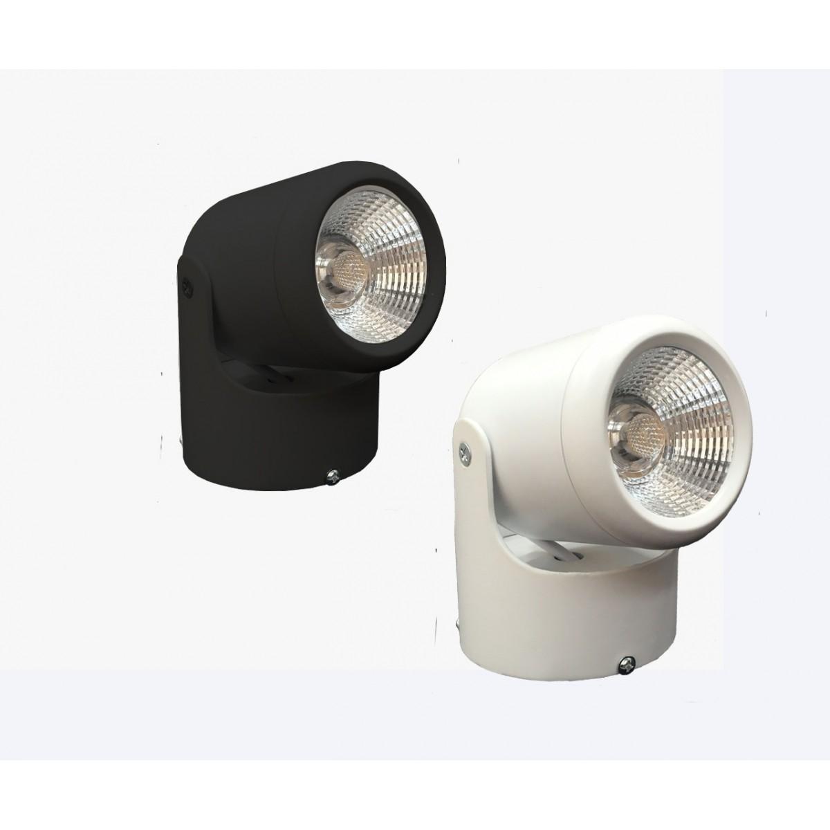 spot led projetor sobrepor 9w direcion vel bivolt. Black Bedroom Furniture Sets. Home Design Ideas