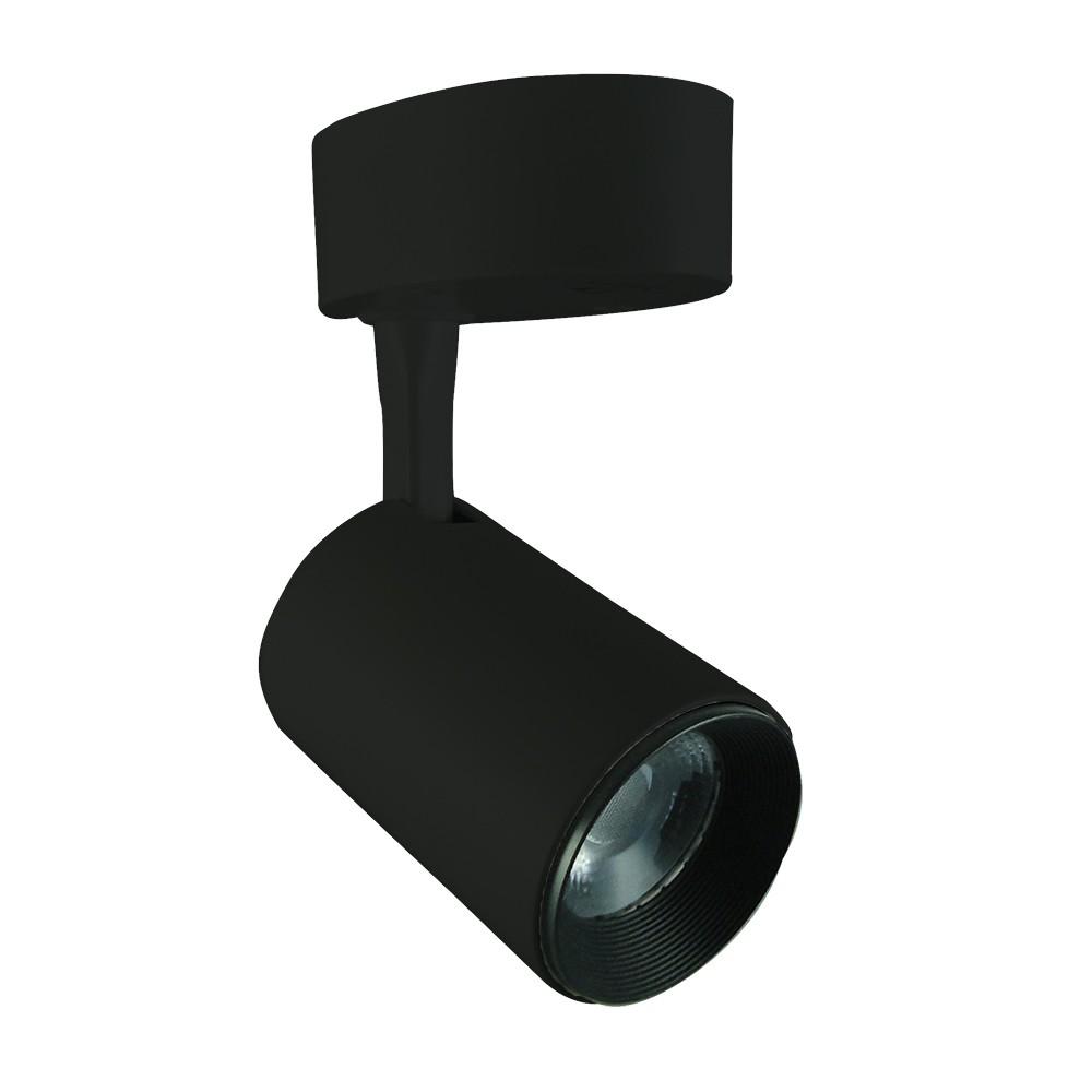 Spot LED Sobrepor 7W Direcionável Bivolt Luz Amarelada