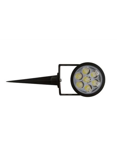 Spot Projetor Super LED 8W Com Espeto Para Jardim