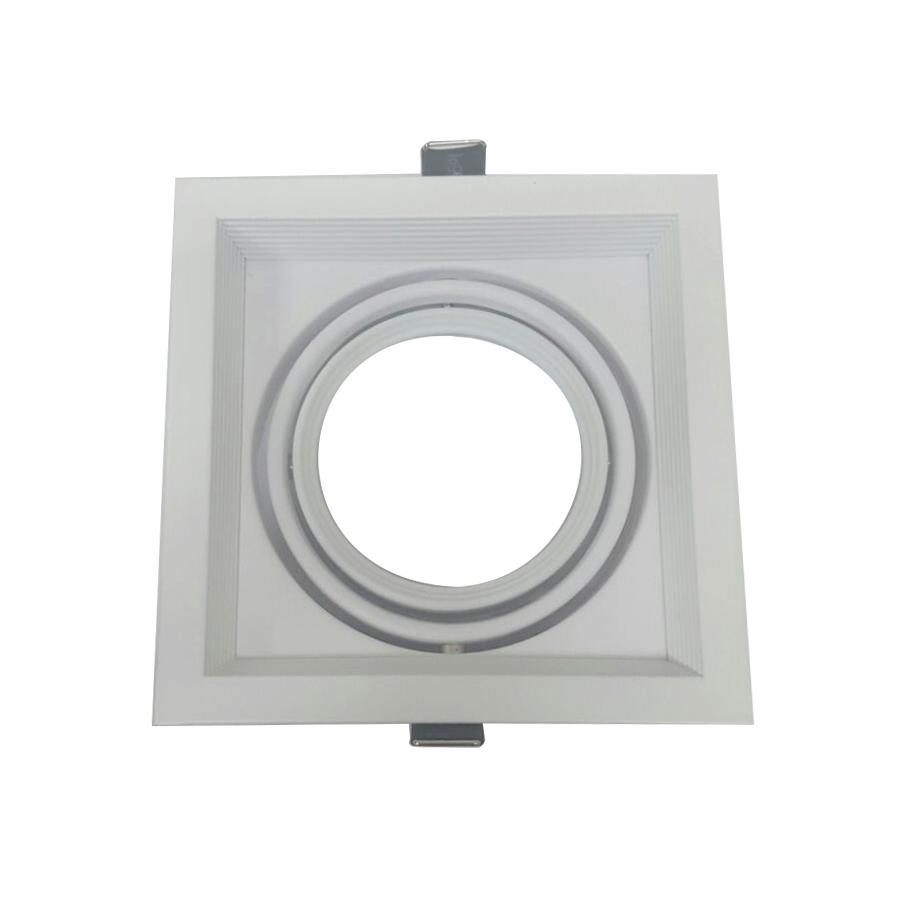 Spot Recuado Para Lâmpada AR70 Branco ou Preto Orbital 360°