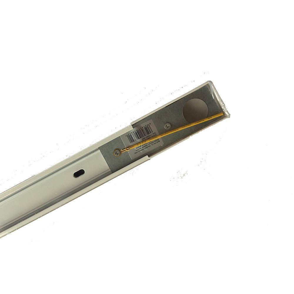 Trilho Eletrificado para Spot LED 1M Preto ou Branco