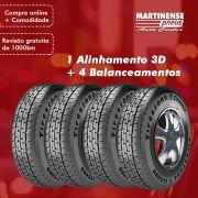 Alinhamento 3D + 4 Balanceamentos Computadorizados Vans Grande Porte - Agendar pelo Tel: (27) 3268-1357 (Whatsapp ou Ligação)