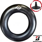 Câmara De Ar 750-18 Aro 18 Bico Borracha Tr15 Jff Homologado Bridgestone