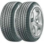Combo 2 Pneus 205/55r15 88v Tubeless P7 Pirelli