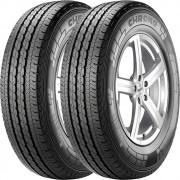 Combo 2 Pneus 205/75r16c Tubeless 110r Chrono Pirelli