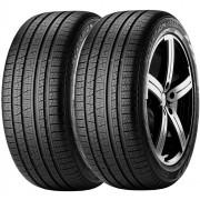 Combo 2 Pneus 255/55r19 Tubeless 111h Scorpion Verde All Season Pirelli