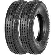 Combo 2 Pneus F4000 608 750-16 Ct52 Liso 10 Lonas Pirelli