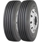Combo 2 Pneus Iveco 70-13 Chassis Cabine 215/75r17.5 126/124m Xze2 Michelin