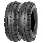 Combo 2 Pneus Retroescavadeira 10.5/65-16 10 Lonas Ra28 Pirelli