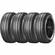 Combo 4 Pneus 185/65r15 92h Tubeless Cinturato P1 Pirelli