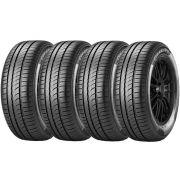 Combo 4 Pneus 195/65r15 Tubeless 91h P1 Cinturato Pirelli