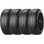 Combo 4 Pneus 205/55r17 Tubeless 91v P7 Cinturato Pirelli