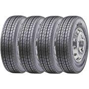 Combo 4 Pneus 235/75r17.5 132/130M Tubeless M814 Bridgestone