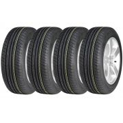Combo 4 Pneus City  Fit  Montana 185/60r15 82h Vi-682 Ovation