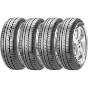 Combo 4 Pneus Gol Fiesta Palio Saveiro 175/70r13 82t P1 Cinturato Pirelli