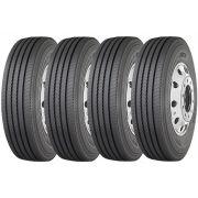 Combo 4 Pneus Iveco 70-13 Chassis Cabine 215/75r17.5 126/124m Xze2 Michelin