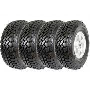 Combo 4 Pneus L200 Toyota Bandeirante Hilux 215/80r16 107q Scorpion Mtr Pirelli