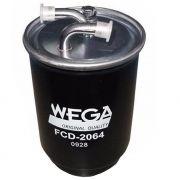 Filtro De Combustível GM S10 2.8 diesel Troller T4 2.8 MWM Nissan Xterra 2.8 FCD2064 Wega