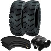 Kit 2 Pneus 700-12 Ci84 12 Lonas Tubetype Pirelli + Camaras + Protetores