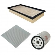 Kit Filtro De Ar Motor + Filtro De Oleo + Ar Condicionado Edge 2008 até 2012