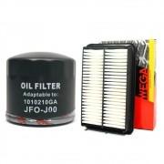 Kit Filtro De Oleo + Ar motor Wega J6