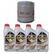 Kit Filtro De Oleo + Oleo 5w20 Energy Havoline Ka 2014