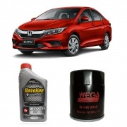 Kit Oleo 10w30 Semi Sintetico Havoline Honda City Civic