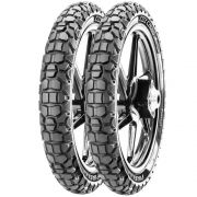 Kit Par Pneus Pop 100  Biz 100  60/100-17 + 80/100-14  City Cross Pirelli