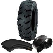 Kit Pneu Empilhadeira 600-9 Ci84 12 Lonas Tubetype Pirelli + Camara + Protetor