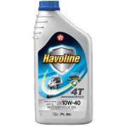 Oleo 4t 10w40 Semi Sintetico Api Sl Litro B2w Suzuki Dafra Havoline