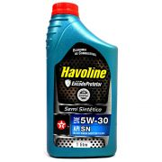Oleo 5w30 Sn Semi Sintetico Lt Havoline