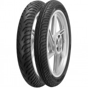 Par Pneu 90/90-18 + 80/100-18 City Dragon Pirelli Cg 125 Cbx 150