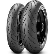 Par Pneu Cb 650 F Mt-07 120/70r17 + 180/55r17 Zr Tl Diablo Rosso III Pirelli