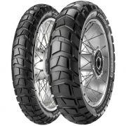 Par Pneu Harley Davidson Roadster 120/70r19 + 150/70-18 Karoo 3 Tubeless Metzeler