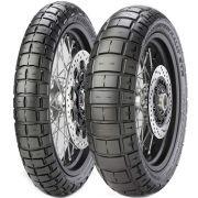 Par Pneu Honda Nc 750 X 120/70r17 + 170/60r17 Scorpion Rally Str Pirelli