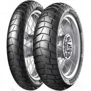 Par Pneu Tiger 800 Xc F 800 Gs 150/70r17 + 90/90-21 Tl Karoo Street Metzeler