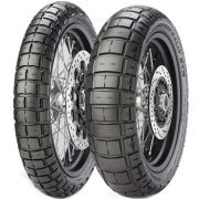 Par Pneu Tiger 800 Xr V-Strom 650 150/70r17 + 110/80r19 Scorpion Rally STR Pirelli