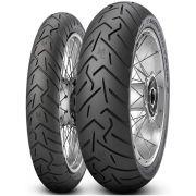 Par Pneu Xl 700v Transalp G 650 130/80r17 + 100/90-19 Scorpion Trail 2 Pirelli