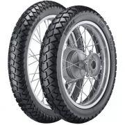 Par Pneu Yamaha Tdm 225 90/90-19 + 410-18 Tr300 Vipal