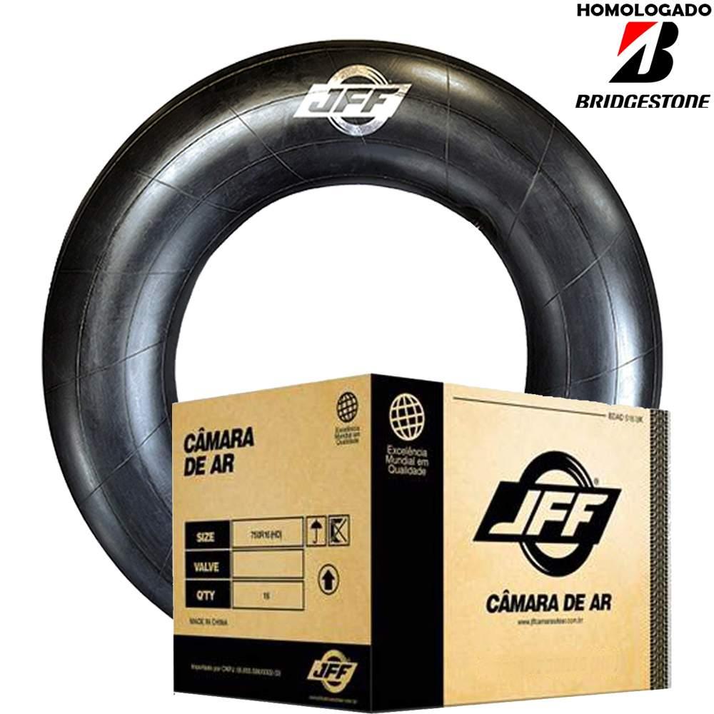 Caixa 4 Câmaras De Ar 16/70-20 Bico Metal Tr179a Jff Homologado Bridgestone