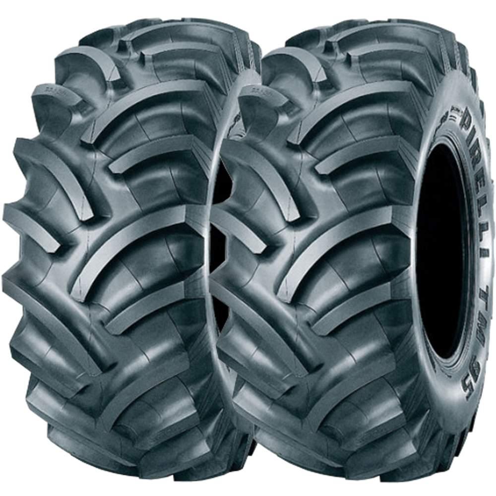 Combo 2 Pneus 12.4-28 6 Lonas Tubetype Tm95 Pirelli