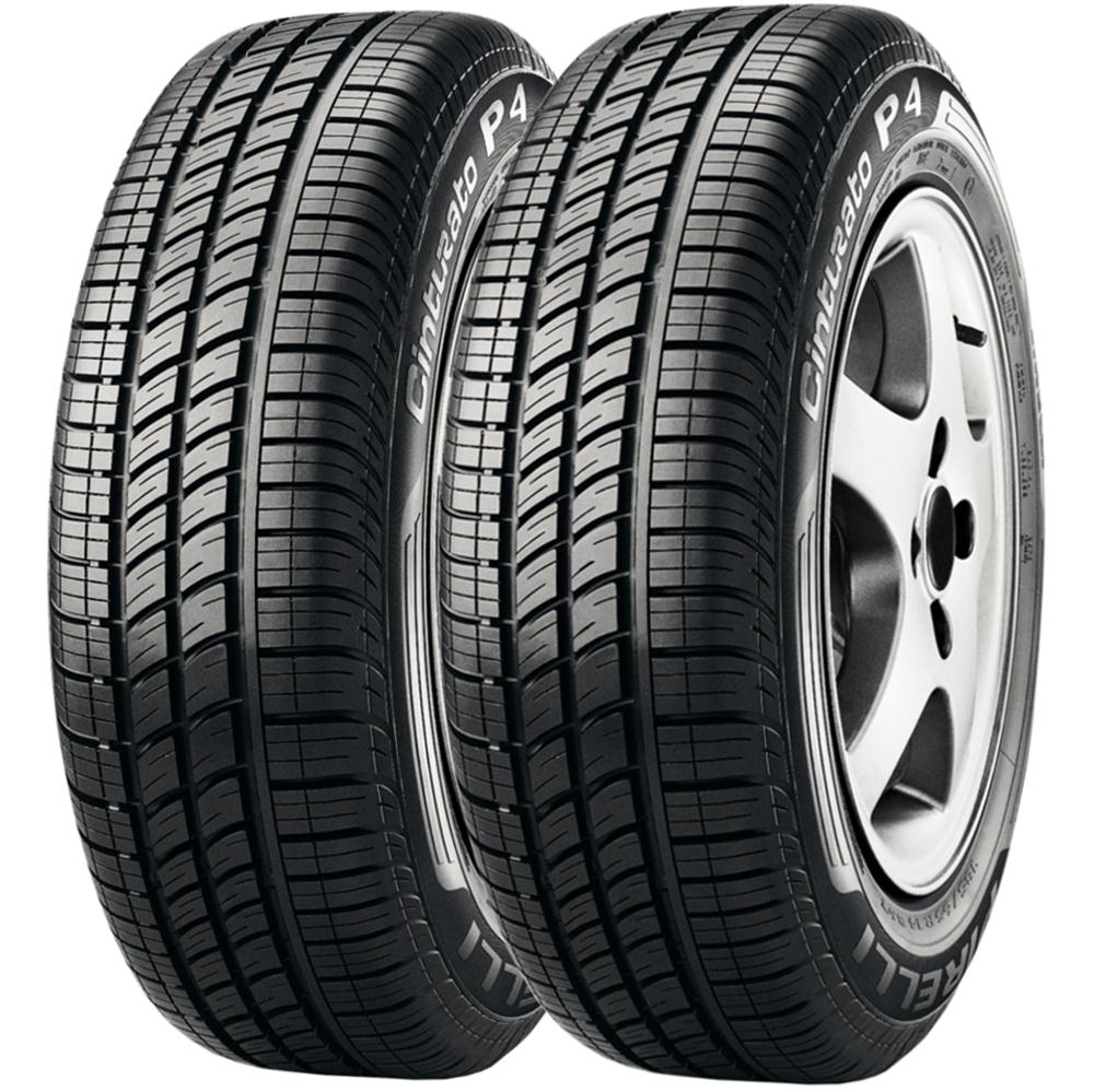 Combo 2 Pneus 175/65r15 84t Tubeless Cinturato P4 Pirelli