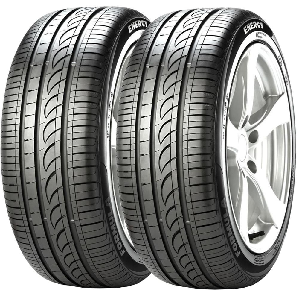 Combo 2 Pneus 185/65r14 Tubeless 86t Formula Energy Pirelli