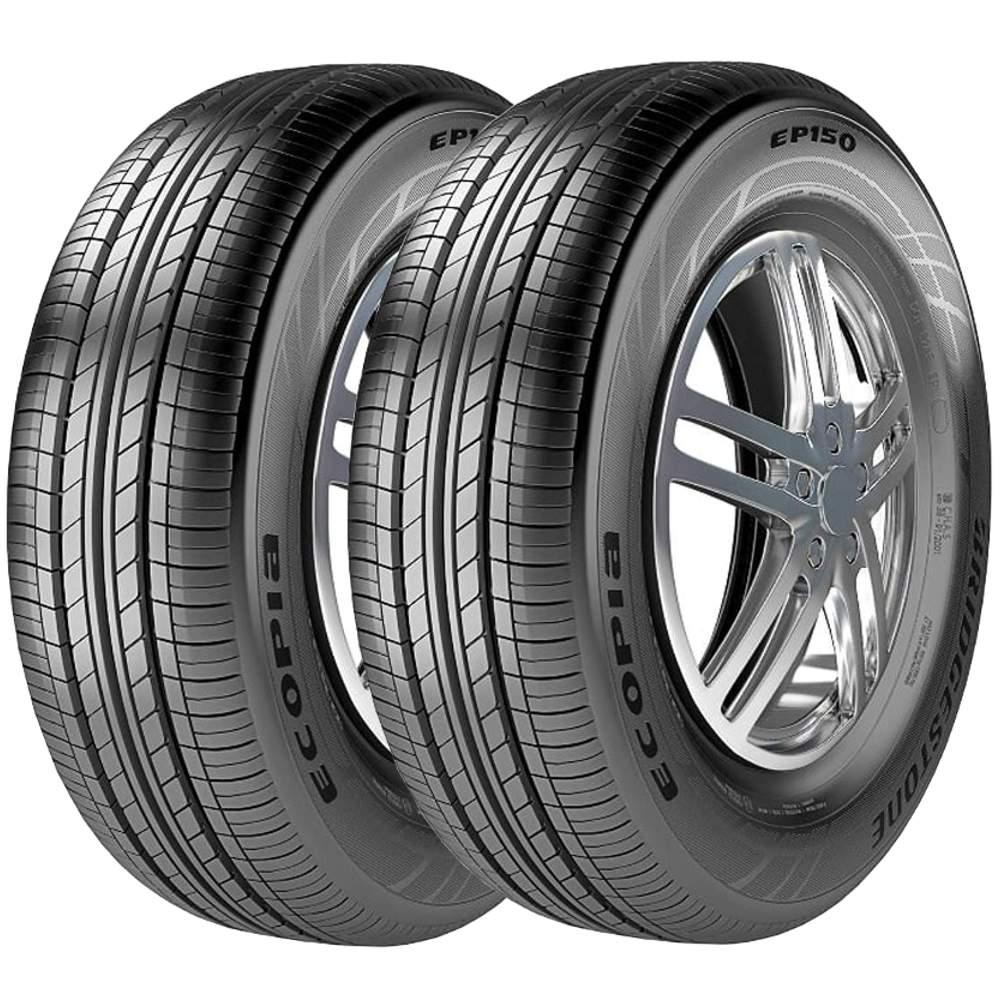 Combo 2 Pneus 195/55R15 85h Tubeless Ecopia Ep150 Bridgestone