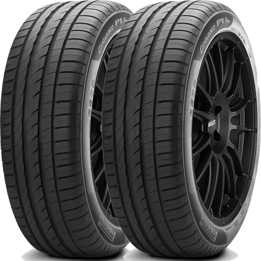 Combo 2 Pneus 195/55r15 85v Cinturato P1 Plus Pirelli