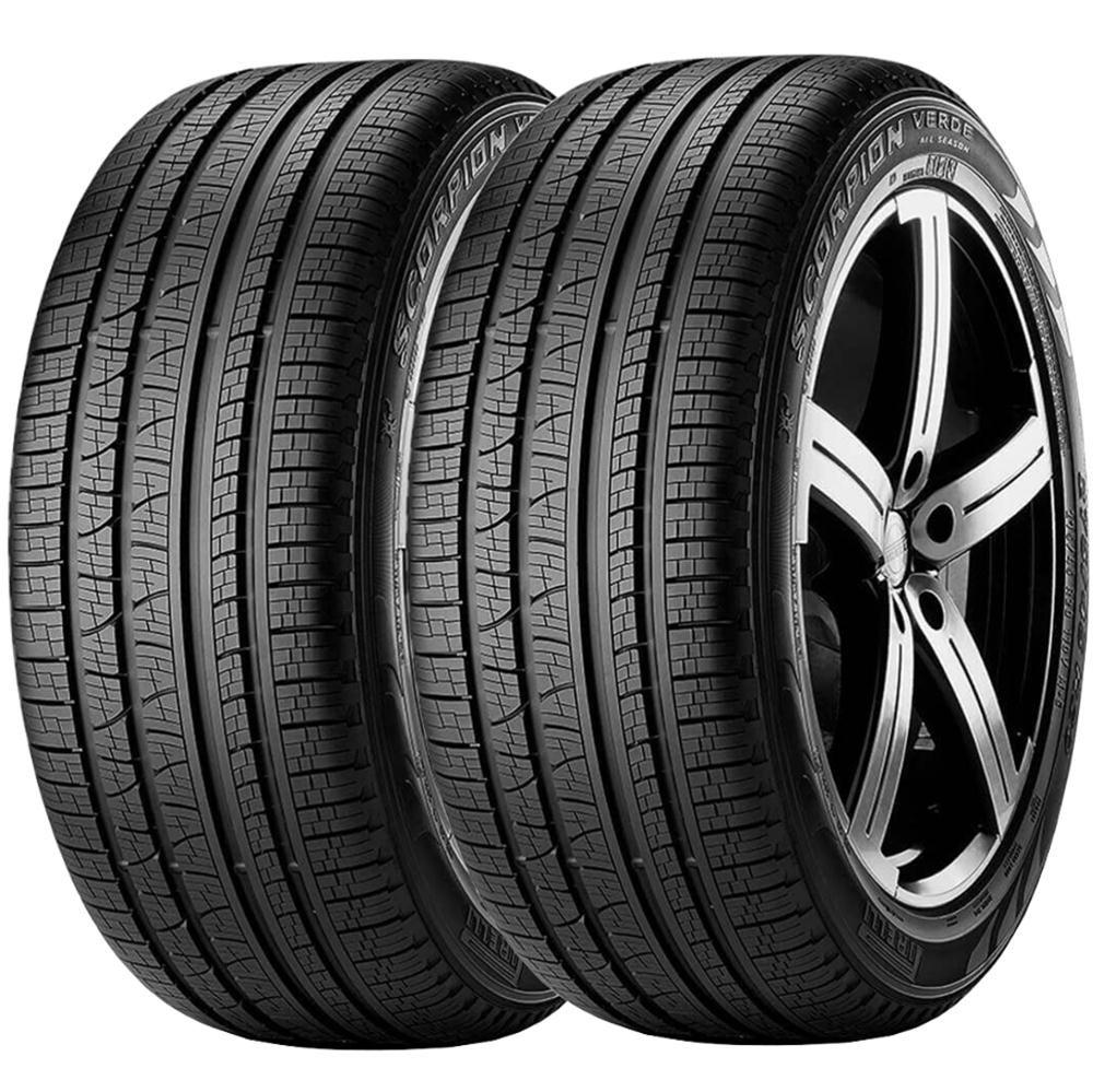 Combo 2 Pneus 215/65r16 Tubeless 102h Xl Scorpion Verde All Season Pirelli