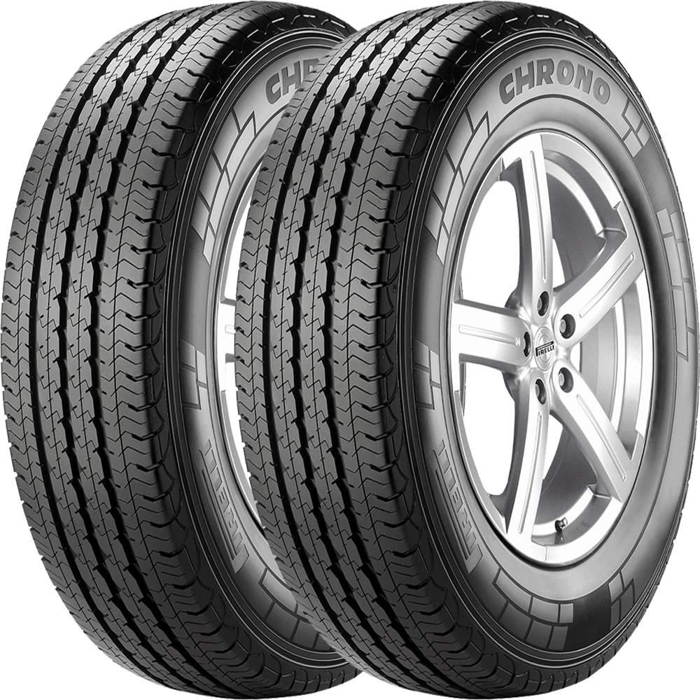 Combo 2 Pneus 225/75r16c 118r Tubeless Chrono Pirelli