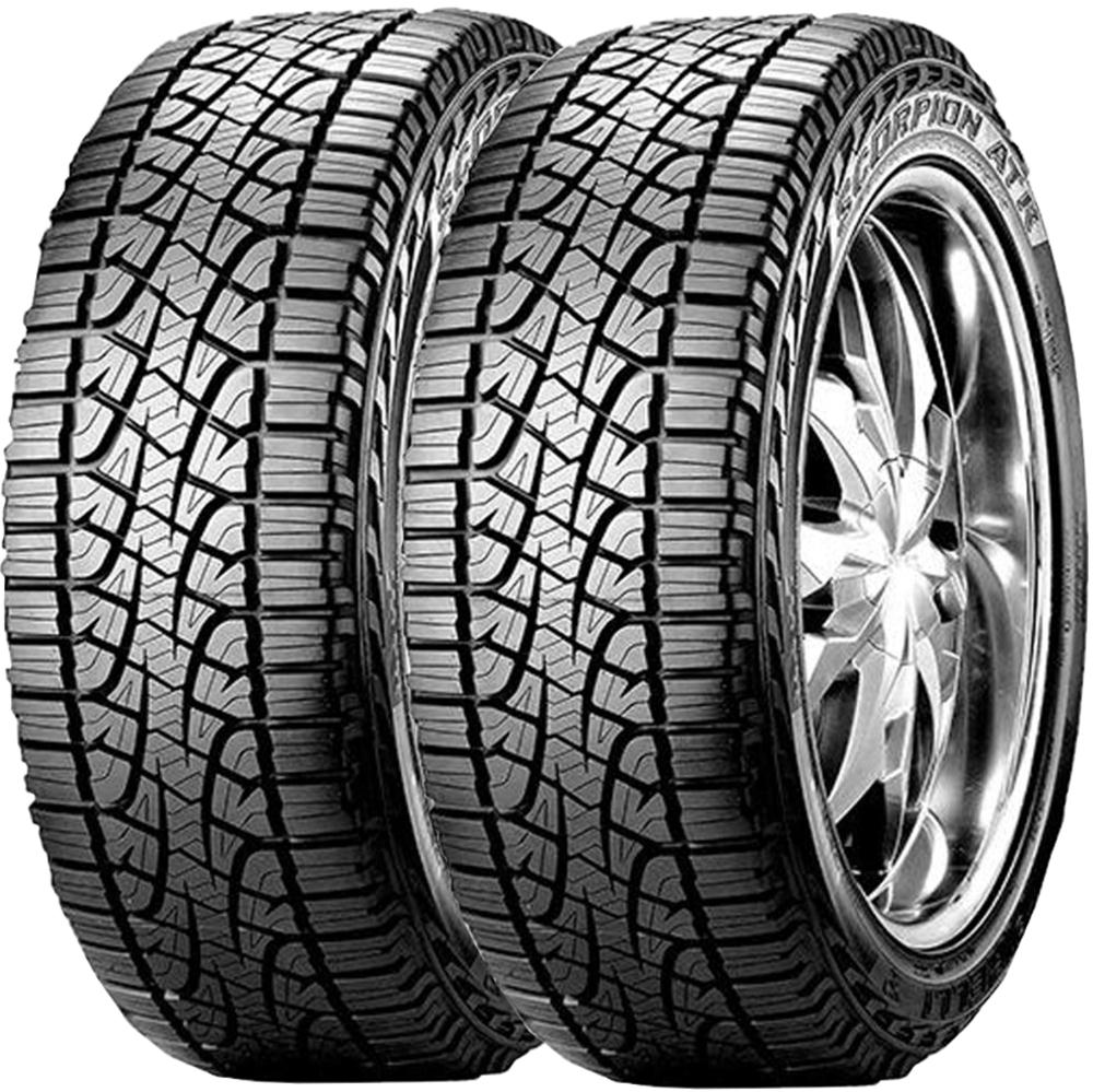 Combo 2 Pneus 255/65r17 Atr 110t Scorpion Atr Pirelli